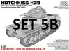 ETS35X01 Hotchkiss H39 - Set 5 option B - SA38 3d printed