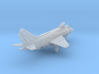 010E Yak-38 1/200 Unfolded Wing 3d printed