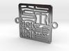 Brooklyn Bracelet Charm 3d printed
