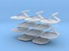 1/7000 Destroyer Larson v2 - 10 ships pack 3d printed