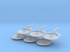 1/7000 Destroyer Larson v1 - 06 ships pack 3d printed