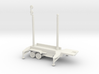 1/110 Scale Patriot Missile Communication Trailer 3d printed
