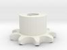 Pignone Per Catena Semplice ISO 04B-1 P6 Z9 3d printed