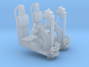 YT1300 DEAGO TURRET WELL SEAT SET 1/43 3d printed