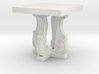 Decorative French Side Table 3d printed