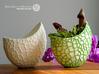 Organic two-color skulpture pot (20 cm) 3d printed Own 3D-Prints with PLA (Size 12 cm). Not Sandstone!