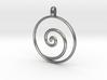 KORU Maori symbol Jewelry Pendant 3d printed