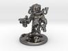 Steam Punk Warrior 3d printed