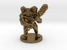 Toad Warrior for Dungeons and Dragons 3d printed