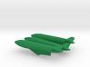 1/144 1200 L Drop Tank Set with pylons for Sepecat 3d printed