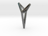 YOUNIVERSAL 3T Origami, Pendant. Sharp Chic 3d printed