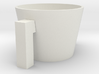 Cup Sleeve for coffee cups.  3d printed