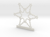 Customizable Christmas Tree Snowflake Ornament 3d printed