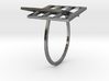 Projective Plane Ring   3d printed