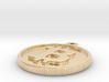 Bitcoin Keychain 3d printed
