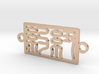 New York Charm Bracelet 3d printed