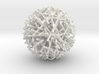 Christmas Nest Bauble 3d printed