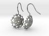 Snowflakes- Earrings 3d printed