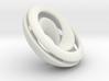 Split Mobius band - 23 mm round 3d printed