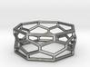 Unique Hexagon Ring  3d printed