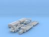 Henschel 6J2 Pritsche Plane-Lastzug (TT 1:120) 3d printed