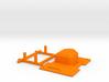 orangeRx UHF 1W JR Module Case Lid 3d printed