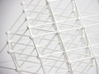 64-Tetrahedron Cube #white 3d printed