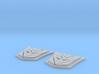 MP-10 Decepticon Trailer Logo X 2 3d printed