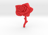 Bleeding Rose Shield - Piece 2 of 2 3d printed