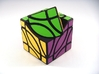 4 Corners Cube Puzzle 3d printed Turn Type B