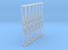 Crossing Gate set of 12 - Z Scale 3d printed