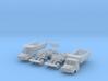 SET Tatra 148 S1 und 148 S3 (N 1:160) 3d printed