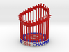 Cubs World Series Trophy 2016 Figurine, Ornament 3d printed