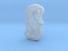 Alemannic S-Fibula Frankfurt, casting, riffled 3d printed