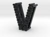 "Pendentif Initial, letter ""V""  3d printed"