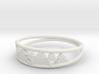 Pine Tree Ring 3d printed
