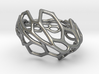 Hexawave Ring-M size 3d printed
