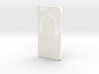 Iphone 6 Case - Name on the back - Headphones 3d printed