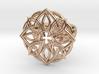 Mandala Petal Ring - Size 5 3d printed