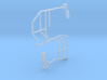 Swather Rails And Mirrors 3d printed