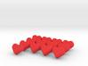 Love Letter -- Tokens of Affection, Set of 13 3d printed