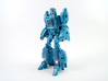 Chromia Faceplate for Titans Return Blurr 3d printed