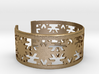 Snowflake Bracelet Small GOOD 3d printed
