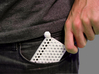 Comb Card Holder 3d printed
