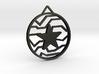 Winter Soldier Star Pendant (Medium) 3d printed