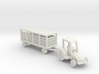 007A 1/144 Tractor & Trailer  3d printed