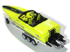 1/87 Myco Trailer 3-axle speedboat-trailer 3d printed AMG Cigarette in 1/87 on Myco