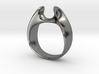 Wormhole Ring Size 12 3d printed