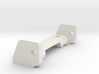 Front axle for 1:32 slot car chassis 3d printed