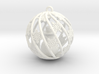 Snowman Christmas Bulb 3d printed